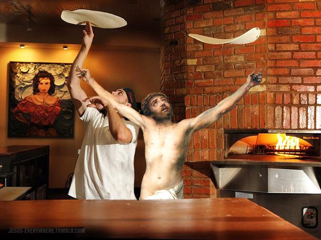 Jesus is everywhere.