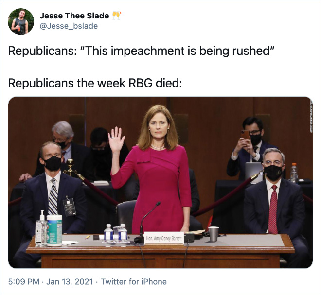 """""""This impeachment is being rushed!"""""""
