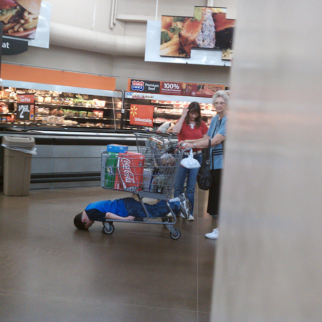 People of Walmart are weird...