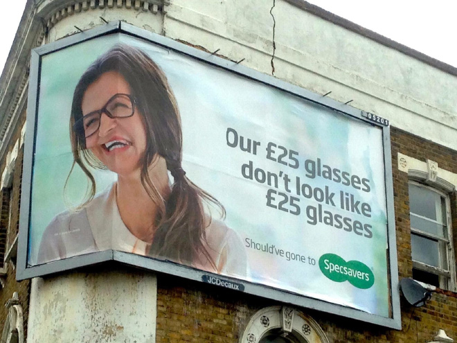 Funny ad fail.