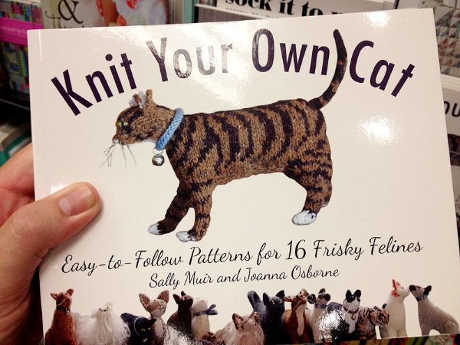 """""""Knit Your Own Cat"""" by Sally Muir and Joanna Osborne"""