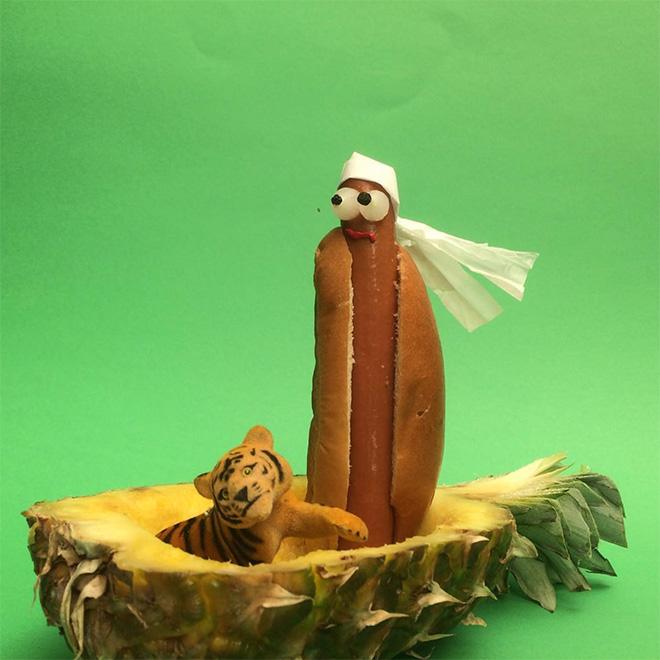 Sausage art.