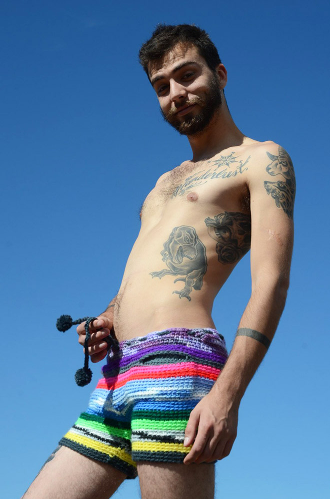 Are you man enough to fill these shorts?