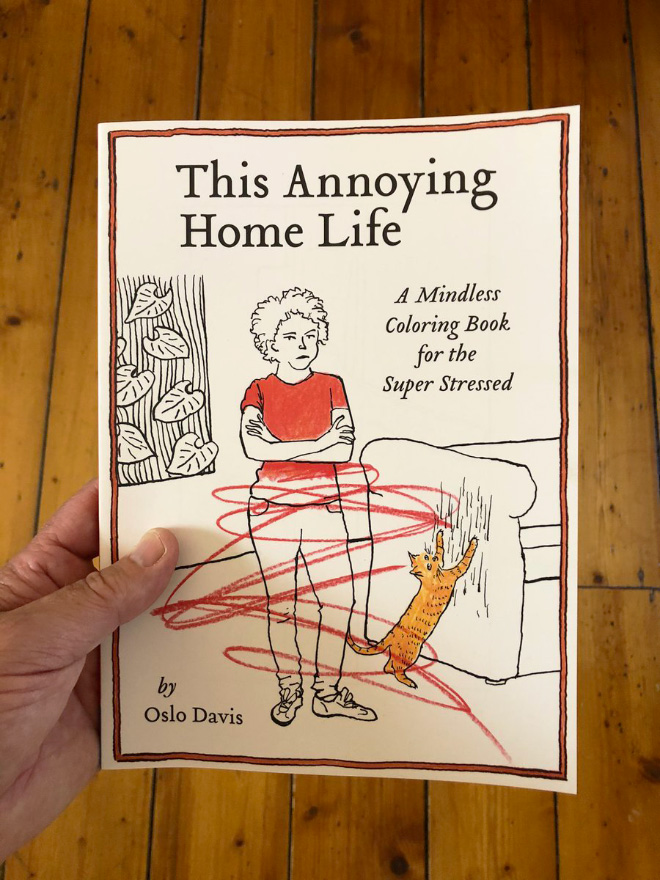 Even at the best of times, daily life can get kind of annoying. And home may be where the heart is, as they say, but it's also where the little things can really add up. This Annoying Home Life coloring book taps into the minor stresses of daily life with humor as relatable as it is hilarious.