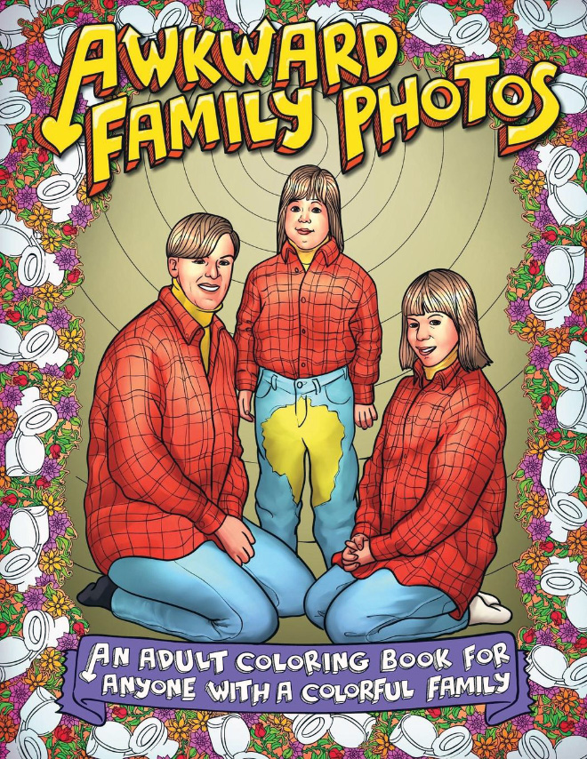 Awkward Family Photos gives a much-needed chuckle, while realizing yeah, maybe your own family isn't as awkward as you thought... or maybe they're more awkward, that's a discovery for you to find.
