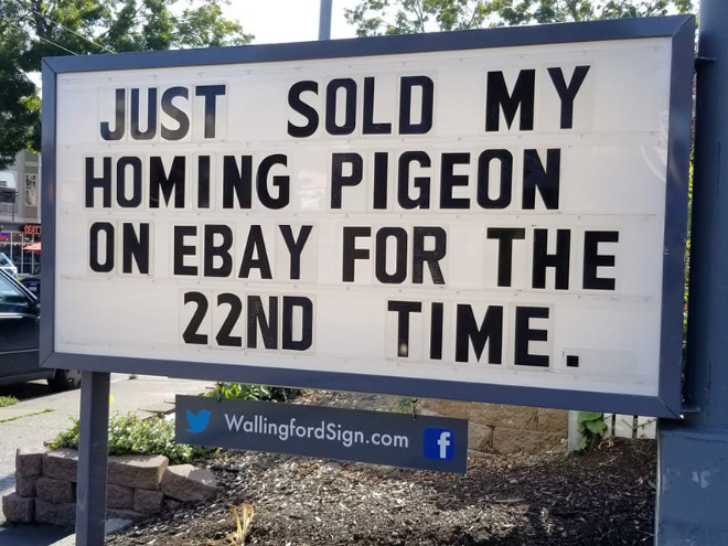 Gas Station Makes Whole Town Laugh With Their Funny Signs