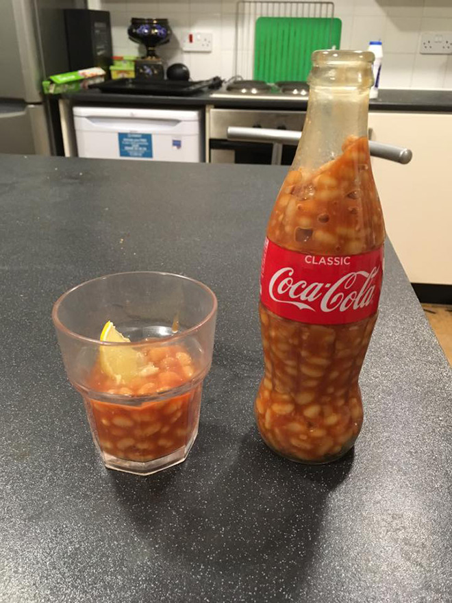 Why is it full of beans?